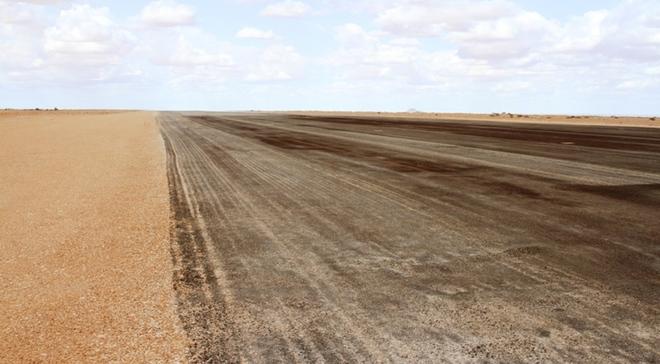 Garowe Airport runway construction